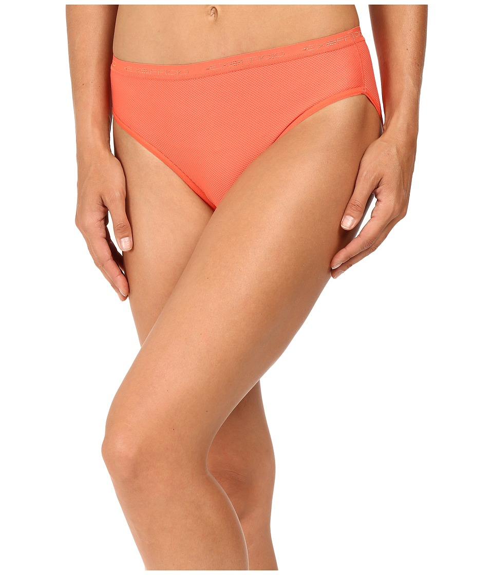 ExOfficio Give-N-Go Bikini Brief (Hot Coral) Women