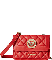 LOVE Moschino - Quilted Crossbody w/ Detachable Wallet