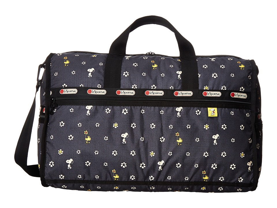 LeSportsac Luggage - Large Weekender (Snoopy Daisy) Duffel Bags