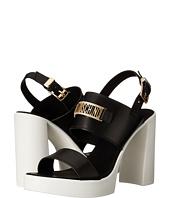 LOVE Moschino - Chunky-Heel Sandal w/ Moschino Logo