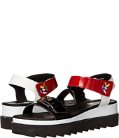 LOVE Moschino - Multicolored Sandal w/ Tread Sole