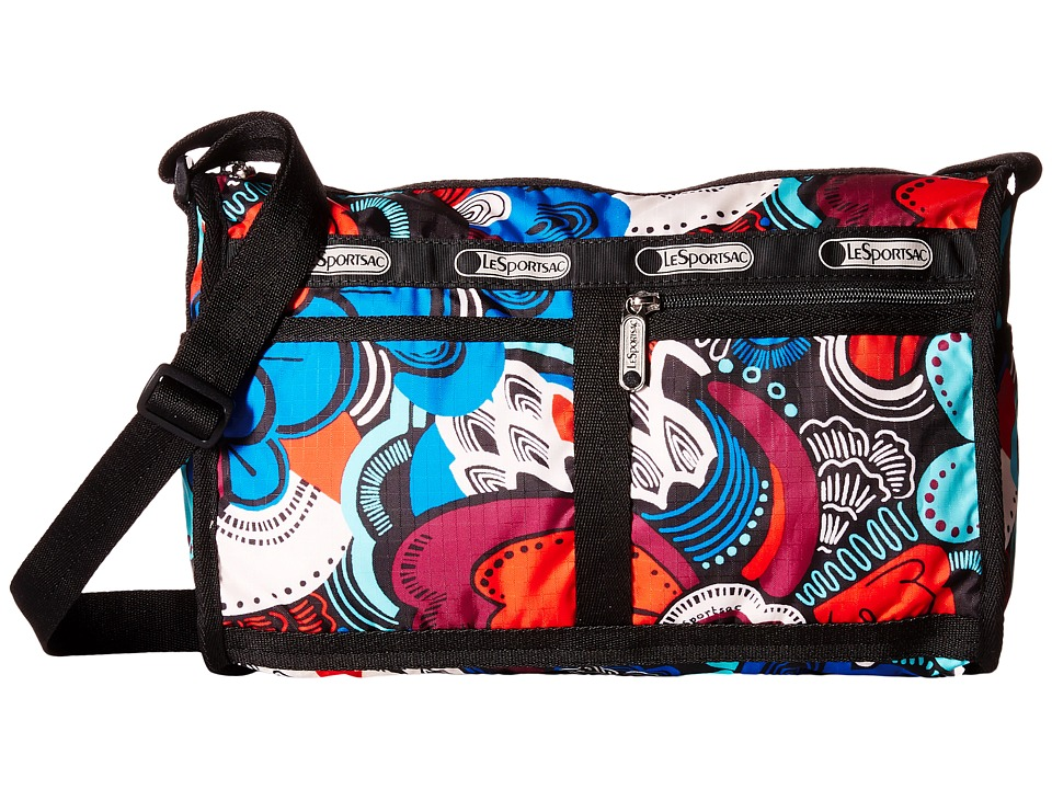 LeSportsac - Deluxe Shoulder Satchel (Swoop-Dee-Doo) Cross Body Handbags
