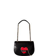 LOVE Moschino - Detachable Heart Flap Bag