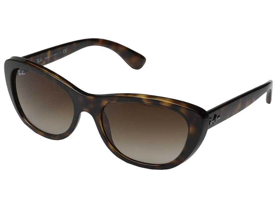 Ray-Ban RB4227 55mm (Light Havana) Fashion Sunglasses