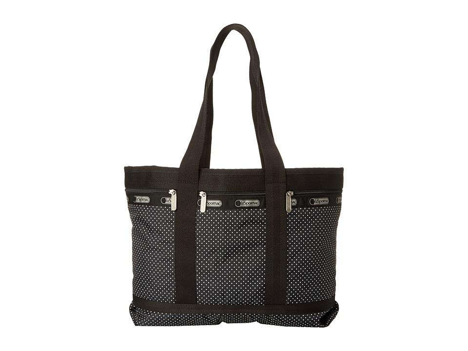 LeSportsac Luggage - Medium Travel Tote (Jet Set Pin Dot) Tote Handbags