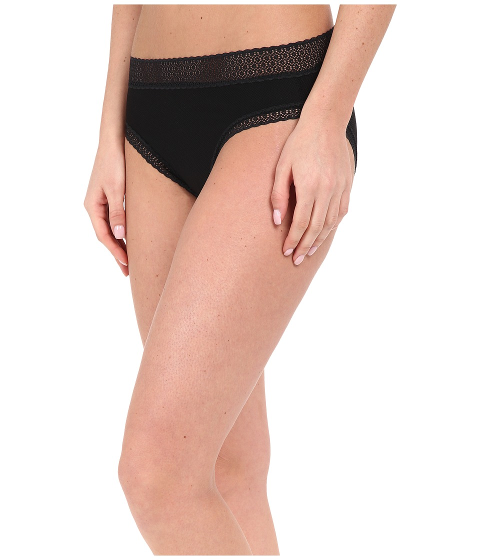 ExOfficio Give-N-Go(r) Lacy Bikini Brief (Black) Women