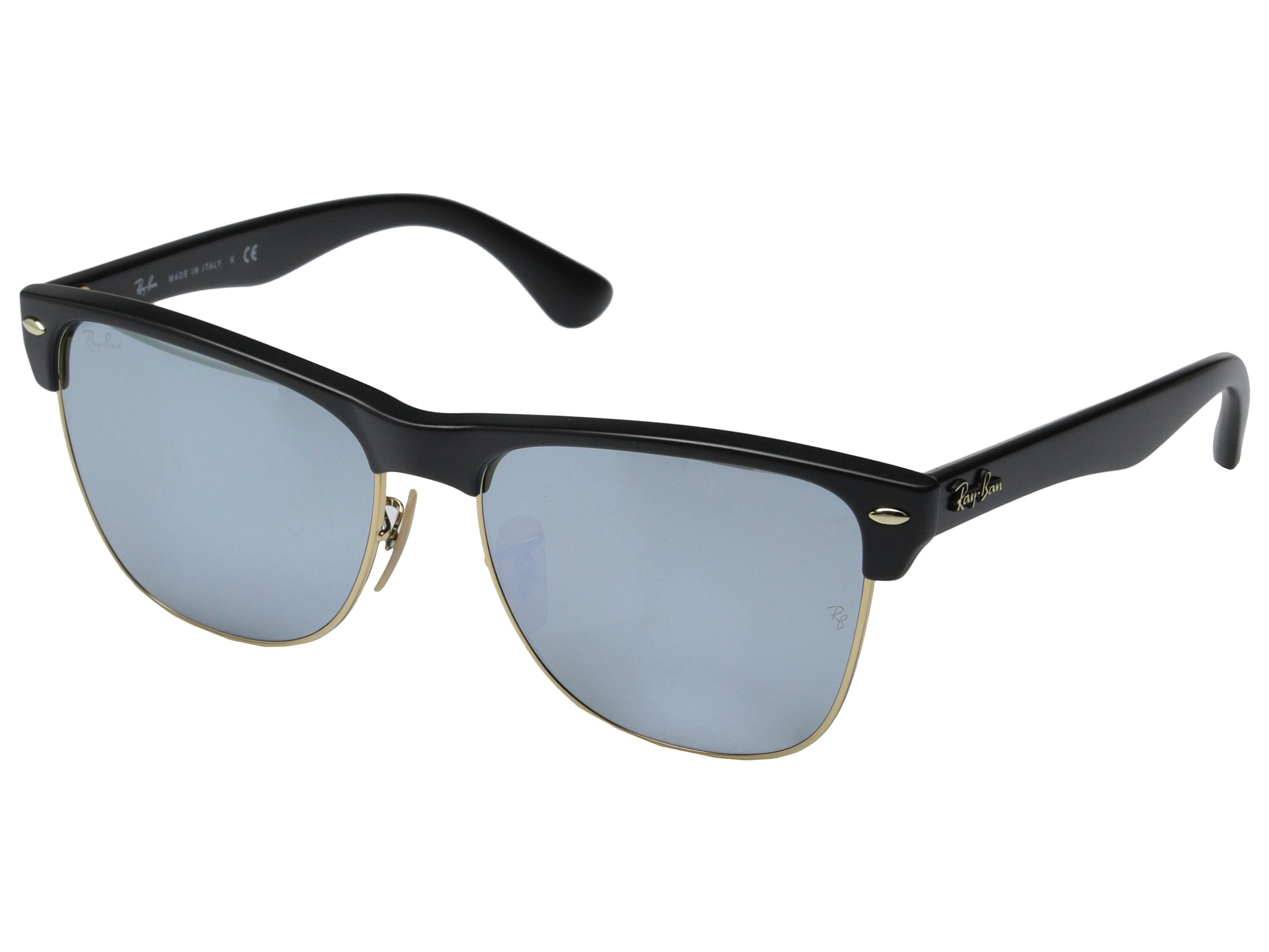 ray ban clubmaster oversized 57mm at. Black Bedroom Furniture Sets. Home Design Ideas