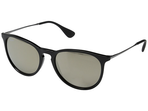 Ray-Ban Erika - Black Brown Mirror Gold