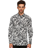 Versace Collection - Stretch Cotton Baroque Patterned Woven