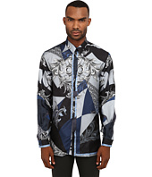 Versace Collection - Silk Baroque Button Up