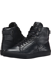 Versace Collection - Clean Leather High Top w/ Strap Detail