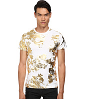 Versace Jeans - Short Sleeve T-Shirt with Gold Foil