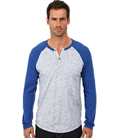Lucky Brand - Long Sleeve Raglan Henley