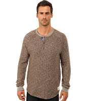 Lucky Brand - Long Sleeve Heathered Henley