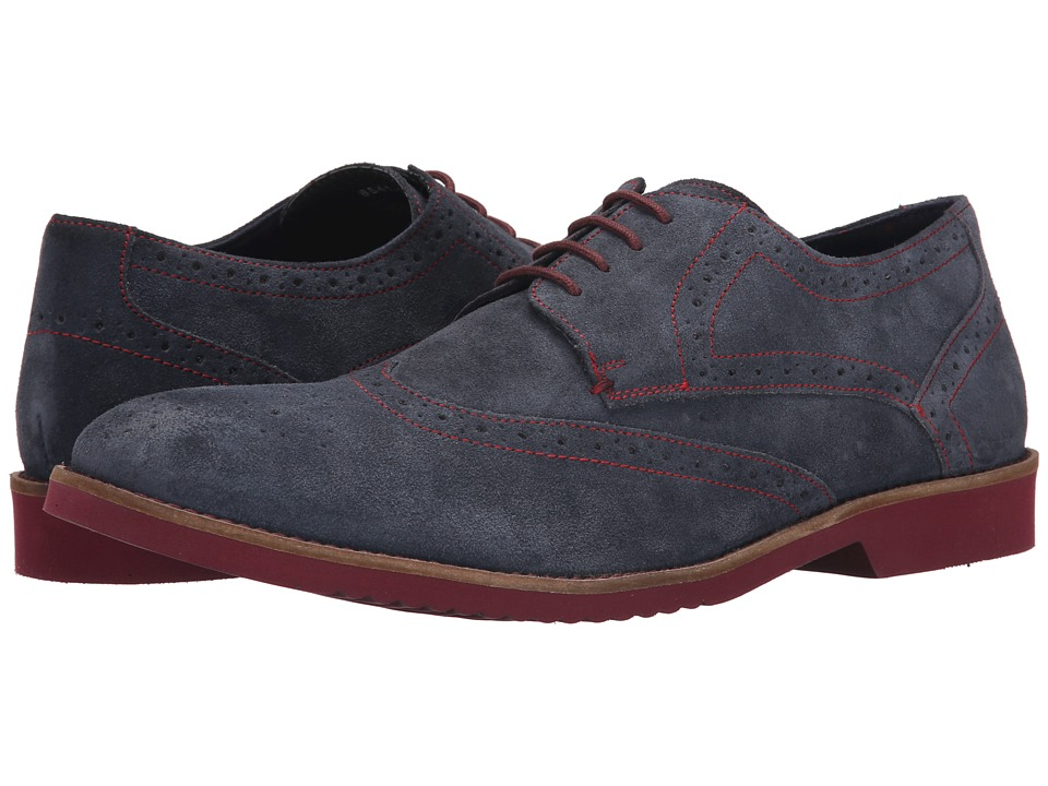 Lotus Everest Navy Greasy Suede Mens Shoes