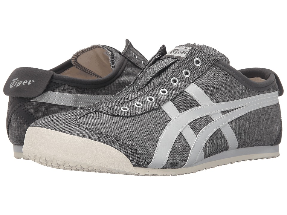 Onitsuka Tiger by Asics Mexico 66 Slip-On (Grey/Soft Grey) Shoes