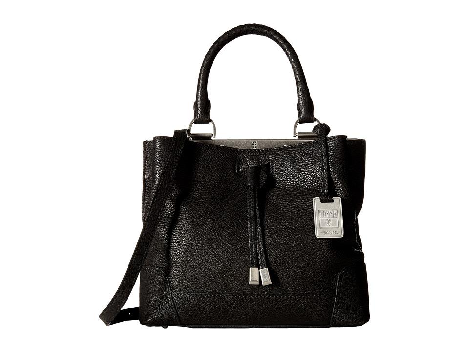 Frye - Fay Small Drawstring (Black Goat Leather) Drawstring Handbags