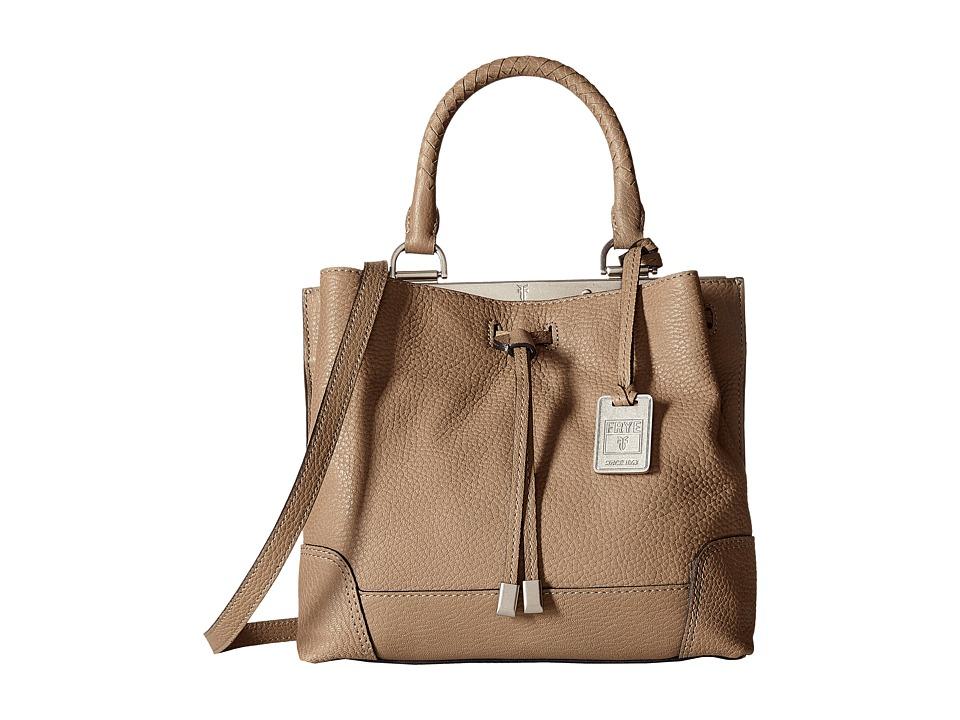 Frye - Fay Small Drawstring (Grey Goat Leather) Drawstring Handbags