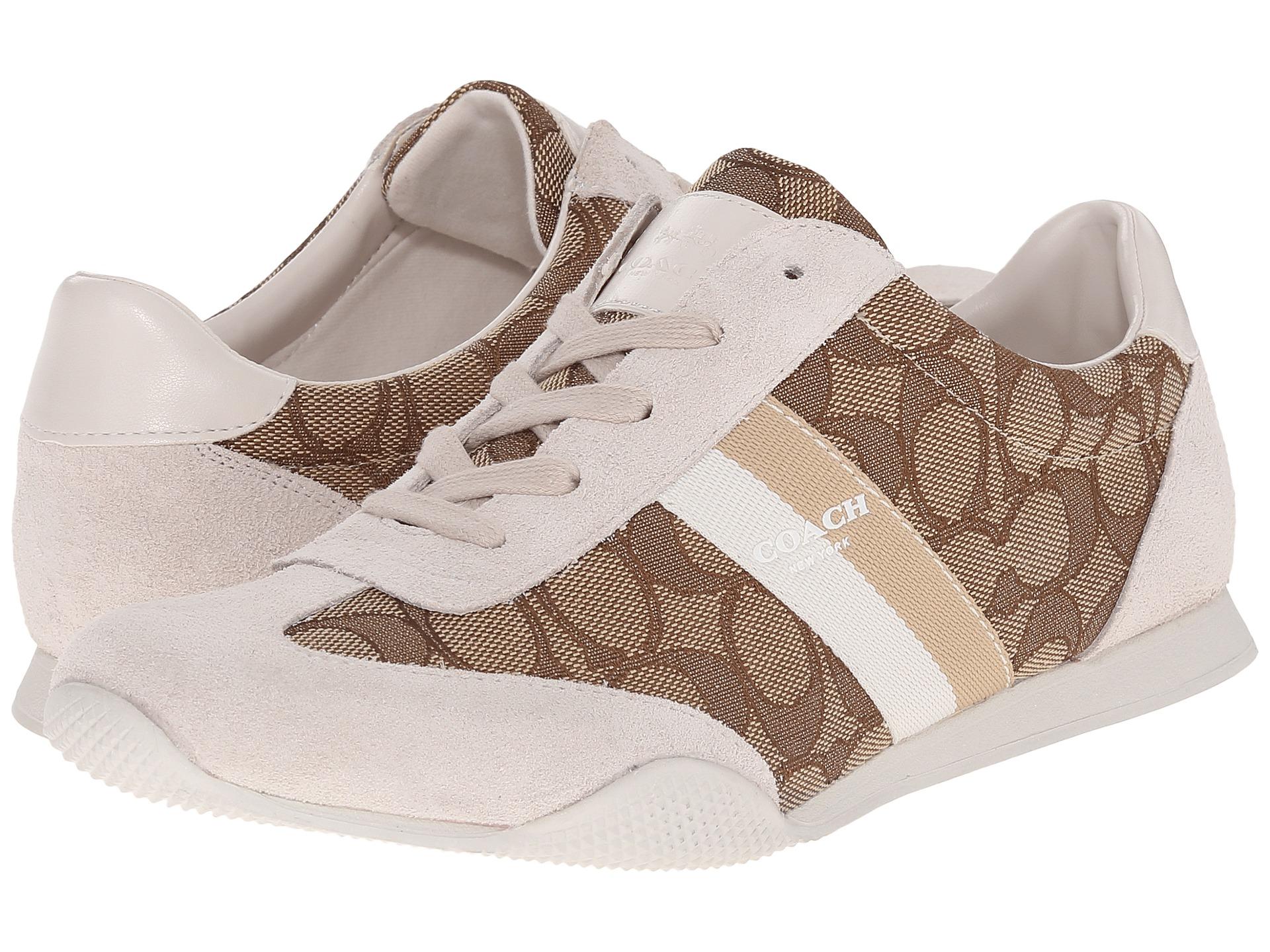 코치 켈슨 아웃라인 스니커즈 시그니처 카키 초크 스웨이드 COACH Kelson Outline Sneakers Khaki Chalk Sig Suede