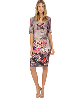 Christin Michaels - Heather Scuba Dress