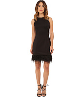 rsvp - Anna Feather Trim Dress