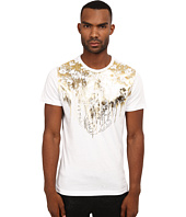 Versace Jeans - Short Sleeve T-Shirt with Gold Foiled Detail