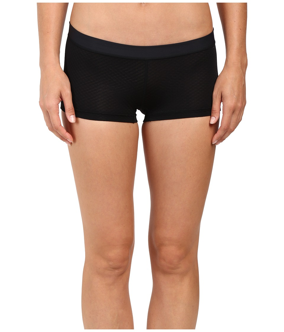 ExOfficio - Give-N-Go(r) Sport Mesh 2 Boyshorts (Black) Womens Shorts