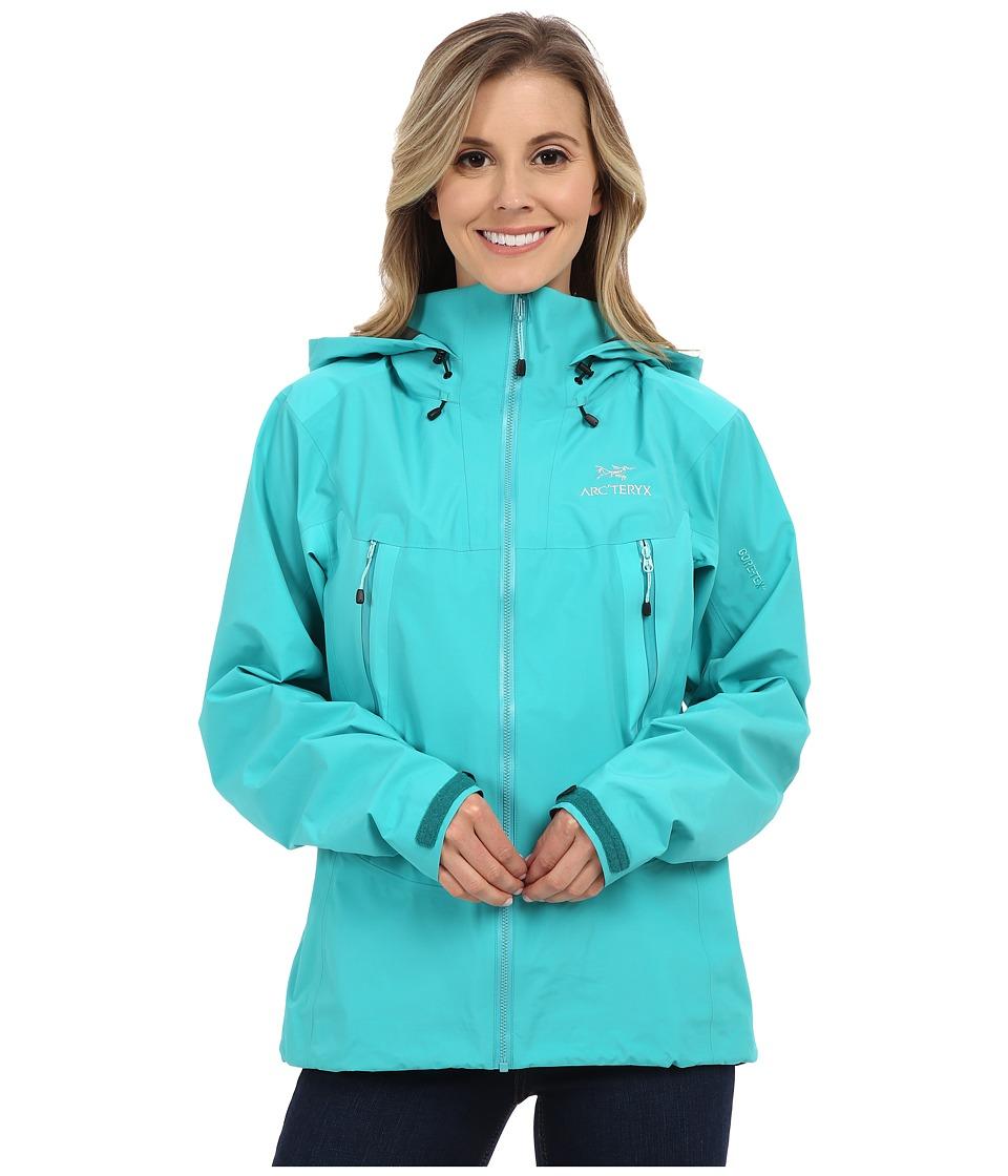 Arcteryx Beta LT Hybrid Jacket Halcyon Womens Coat
