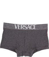 Versace - Apollo Ribbed Cotton Low Rise Trunk