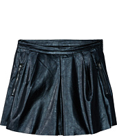Blank NYC Kids - Vegan Leather Pleated Skirt (Big Kids)