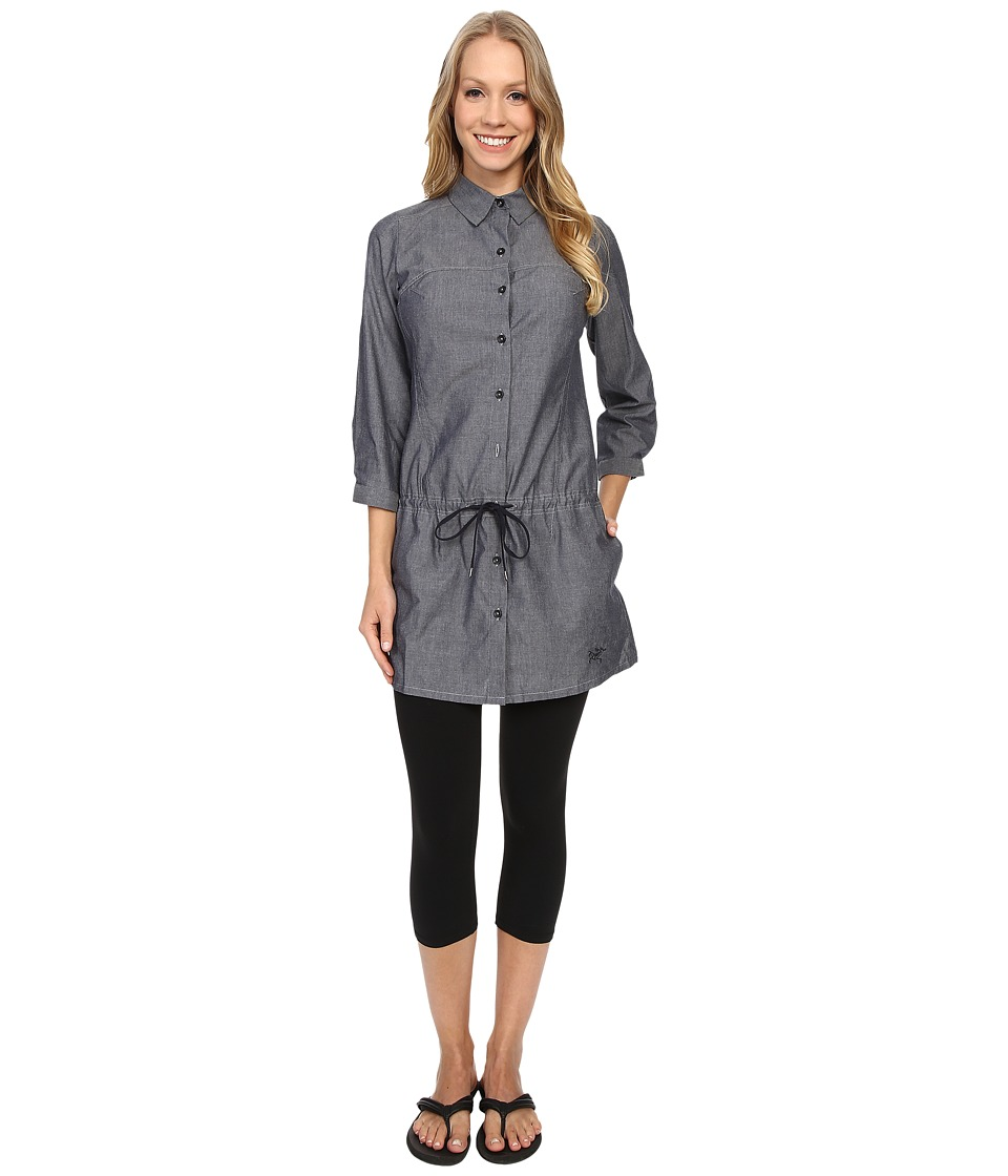 Arcteryx Blanchard Tunic Denim Womens Blouse