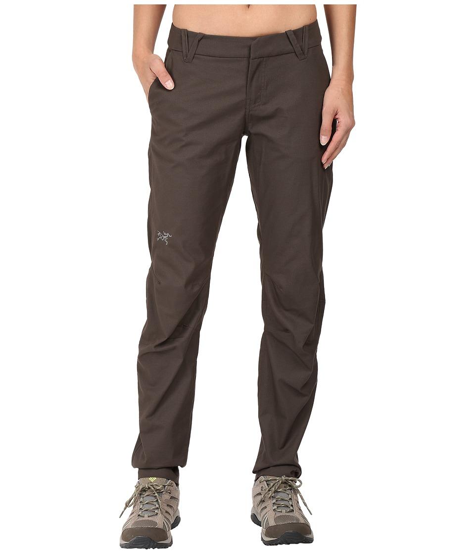 Image of Arc'teryx - A2B Chino Pants (Cast Iron) Women's Casual Pants