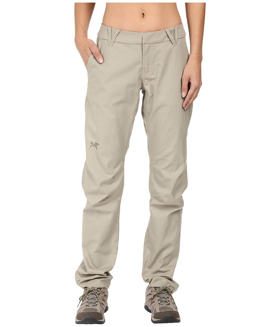 Image of Arc'teryx - A2B Chino Pants (Light Carbide) Women's Casual Pants
