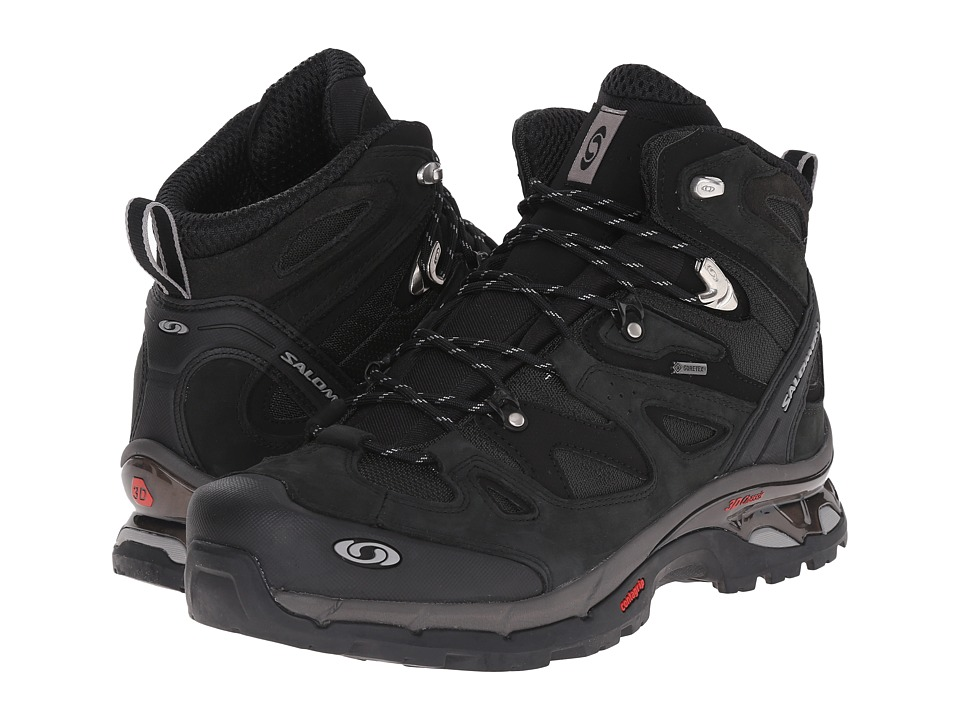Salomon - Comet 3D GTX (Asphalt/Black/Pewter) Men