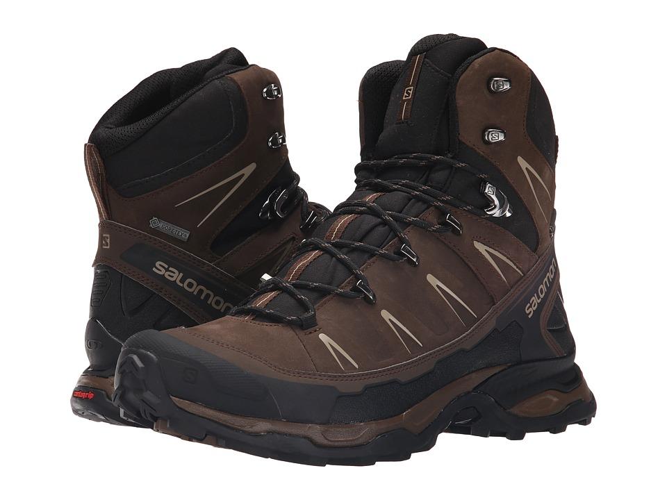 Salomon - X Ultra Trek GTX (Absolute Brown-X/Black/Navajo) Mens Shoes