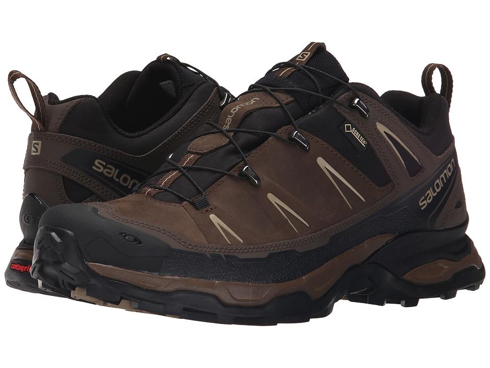 Salomon - X Ultra LTR GTX(r) (Absolute Brown-X/Black/Navajo) Mens Shoes