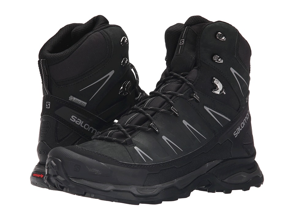 Salomon - X Ultra Trek GTX (Black/Black/Autobahn) Mens Shoes
