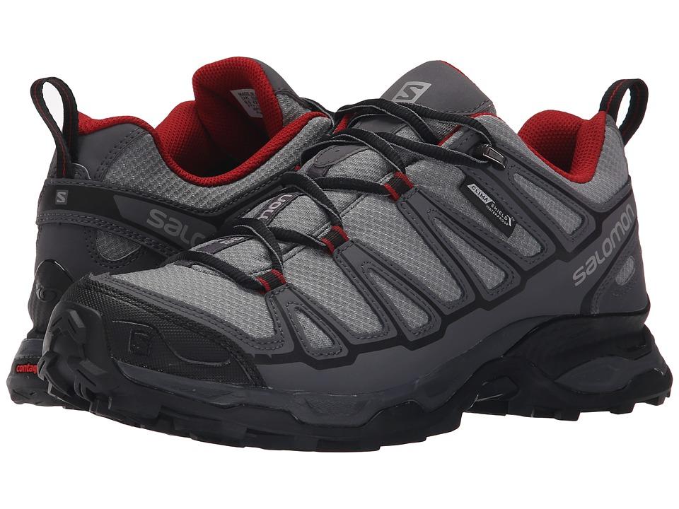 Salomon - X Ultra Prime CS WP (Pearl Grey/Dark Cloud/Flea) Mens Shoes