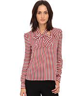 RED VALENTINO - Camicia Tie Blouse