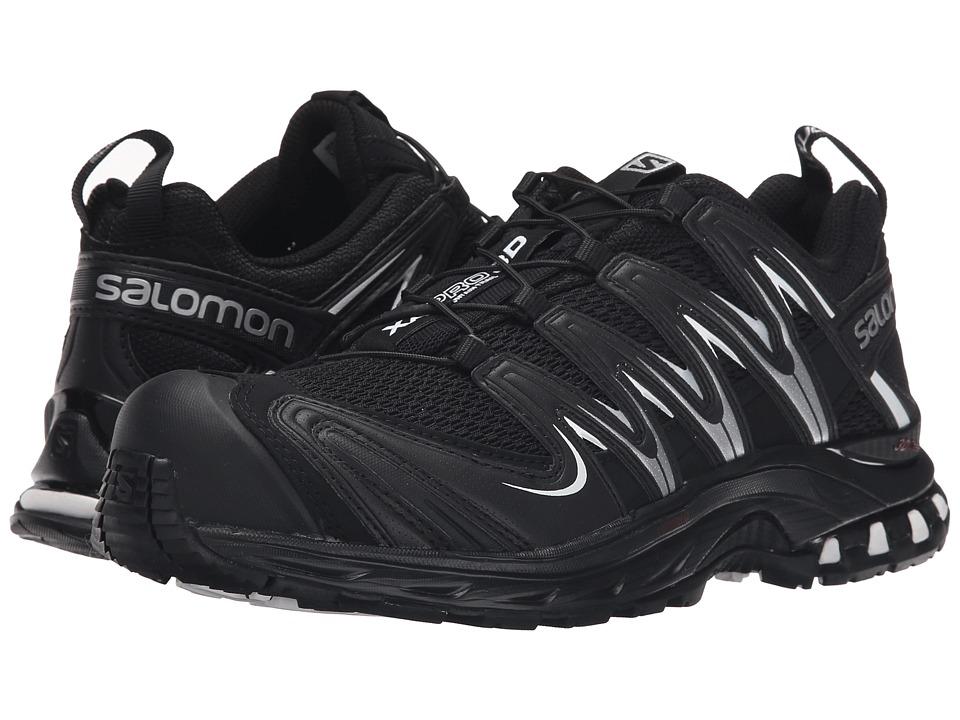 Salomon XA Pro 3D (Black/Black/White Multi Snake) Women's Running Shoes