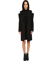 Vera Wang - Single-Breasted Reefer Coat