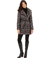 Via Spiga - Kate Middleton Down Coat w/ Faux Fur