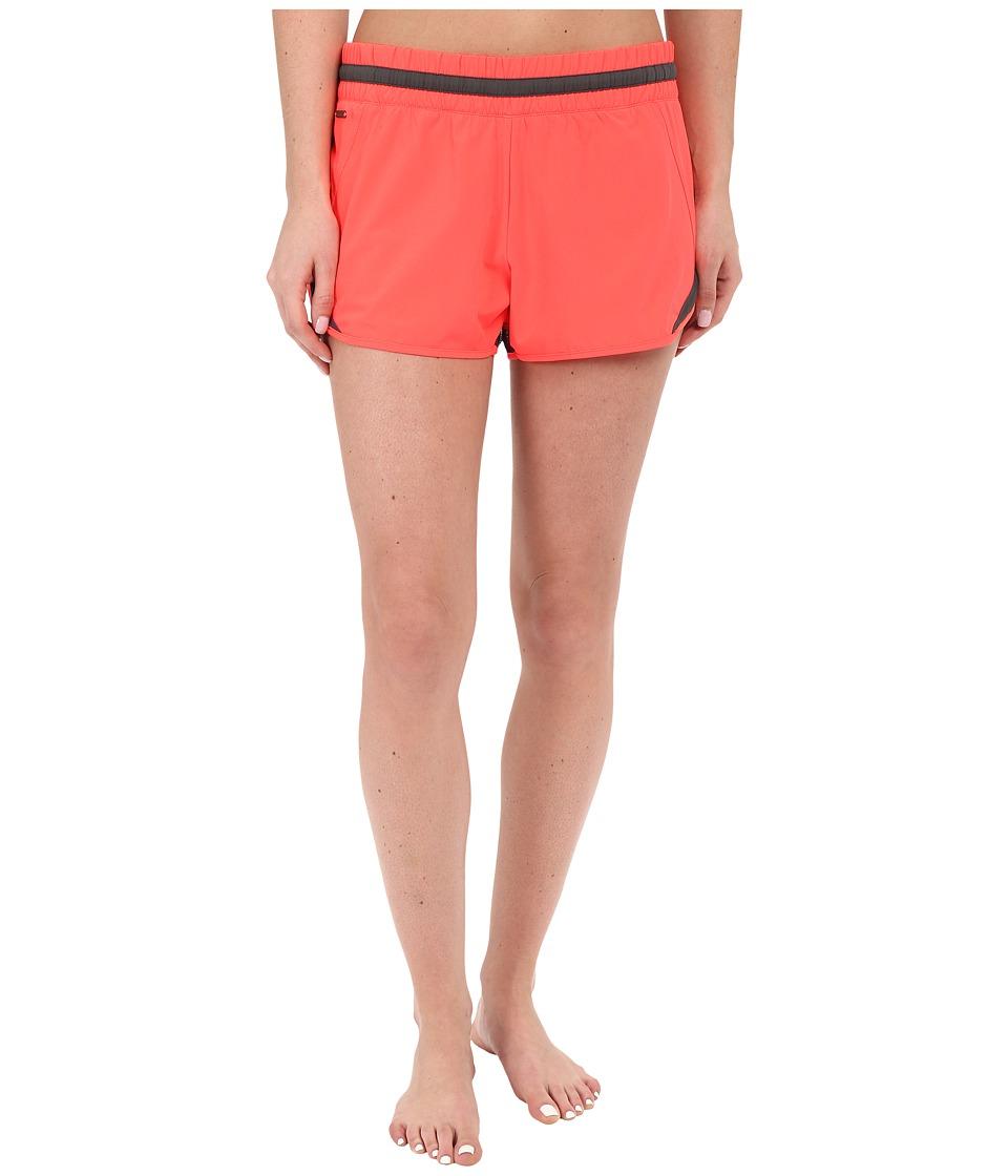 Lole Hanailei Boardshorts Fiery Coral Womens Swimwear