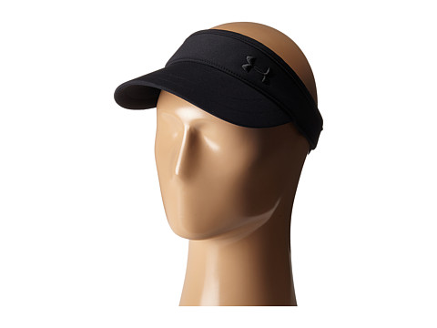 Under Armour UA Solid Golf Visor - Black/Black