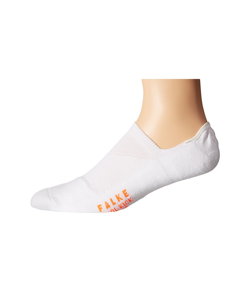 Falke Cool Kick Invisible Socks White Mens Low Cut Socks Shoes