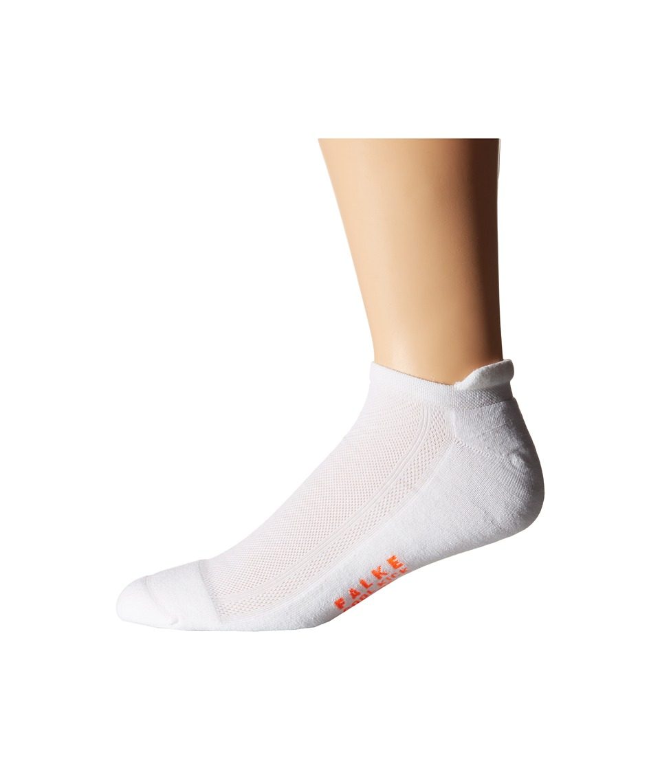 Falke Cook Kick Sneaker Socks White Mens No Show Socks Shoes