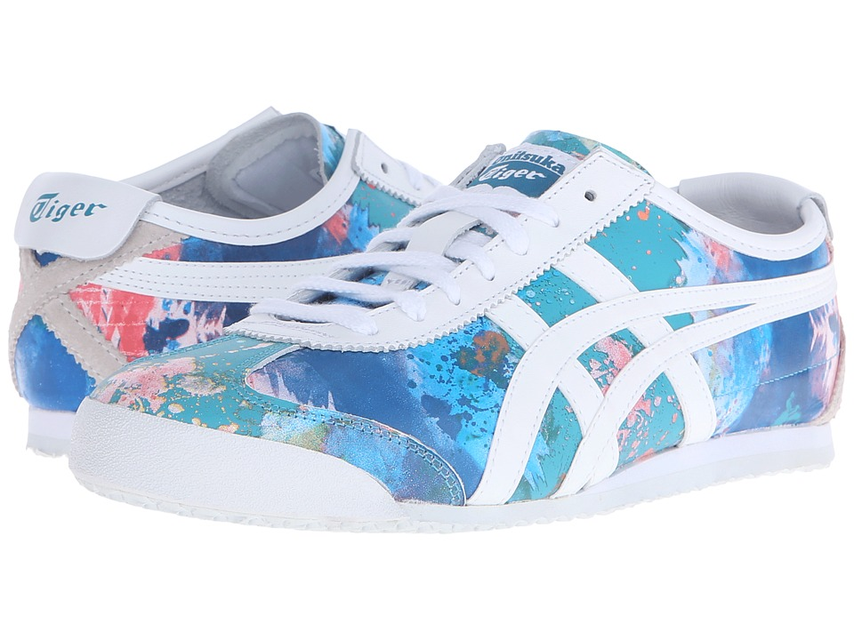 Onitsuka Tiger by Asics Mexico 66 Blue/White Womens Classic Shoes