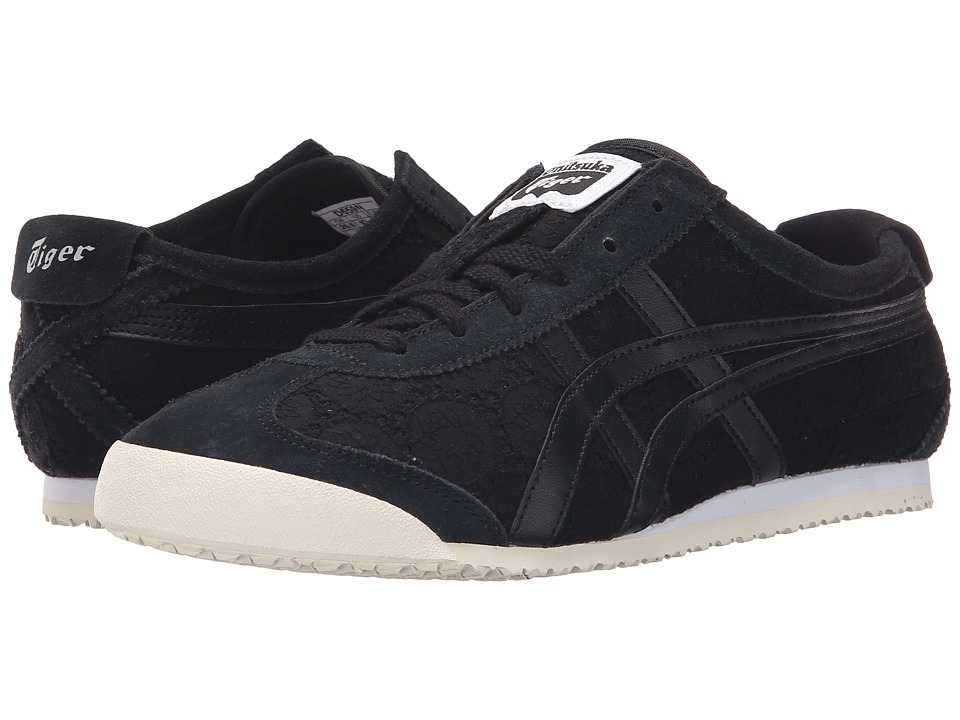 Onitsuka Tiger by Asics - Mexico 66 (Black/Black 2) Womens Classic Shoes
