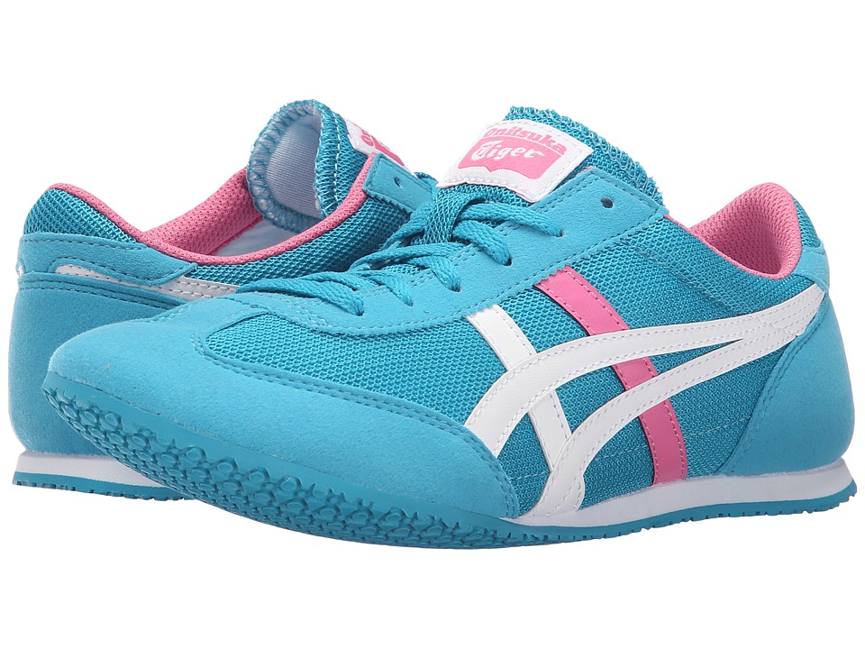 Onitsuka Tiger by Asics Machu Racer Algiers Blue/White Womens Shoes