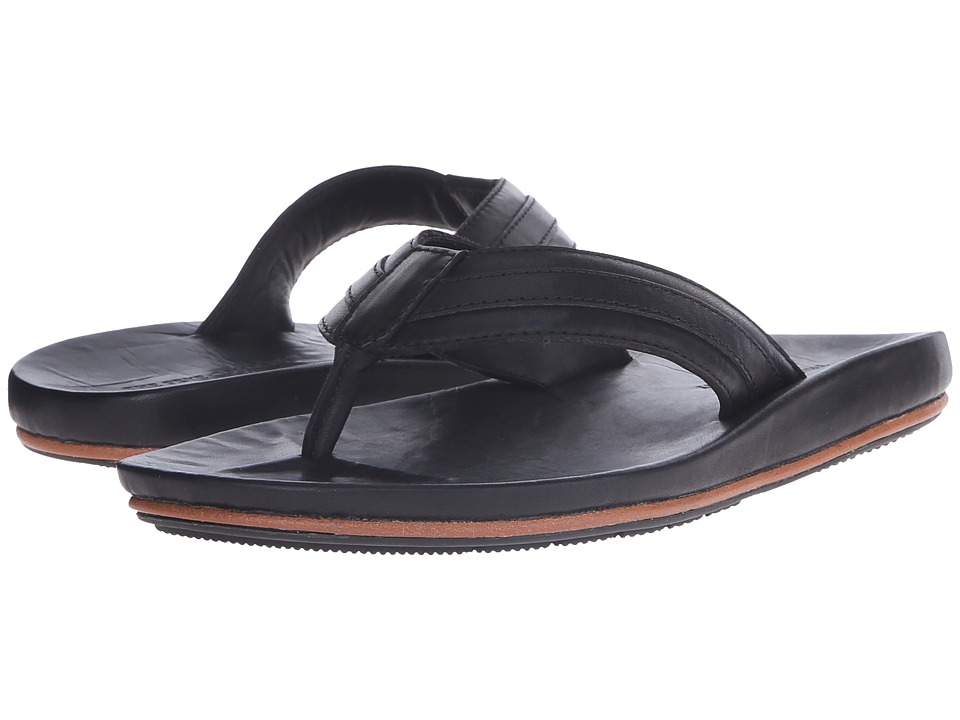 Frye - Brent Sandal (Black) Men's Sandals